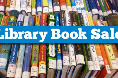 June 1st Library Book Sale $0.25/book